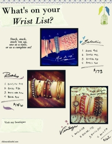 WRIST LIST
