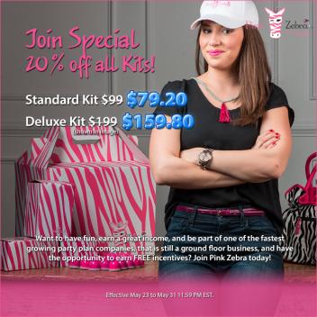 Pink Zebra 20%off